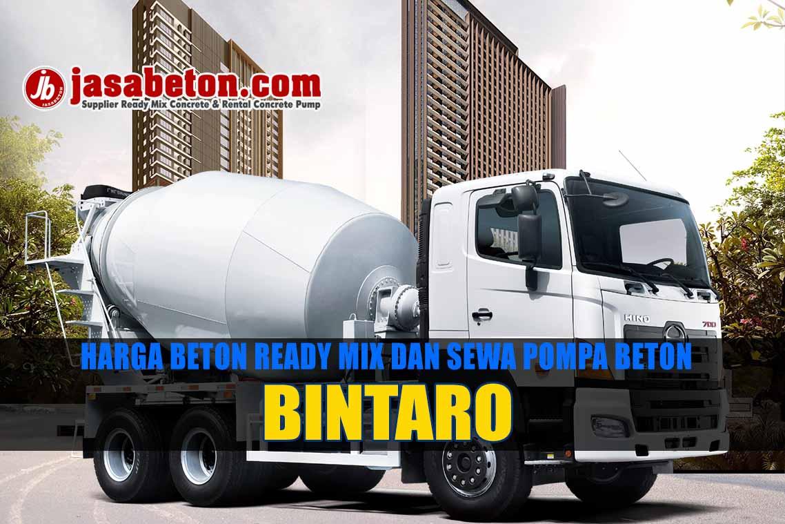 harga beton ready mix murah bintaro
